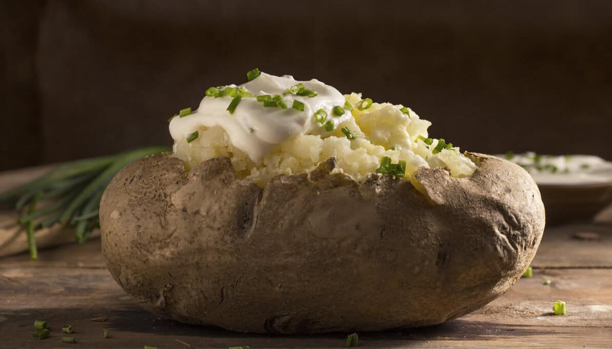 Upfit Kartoffel Mit Kräuterquark