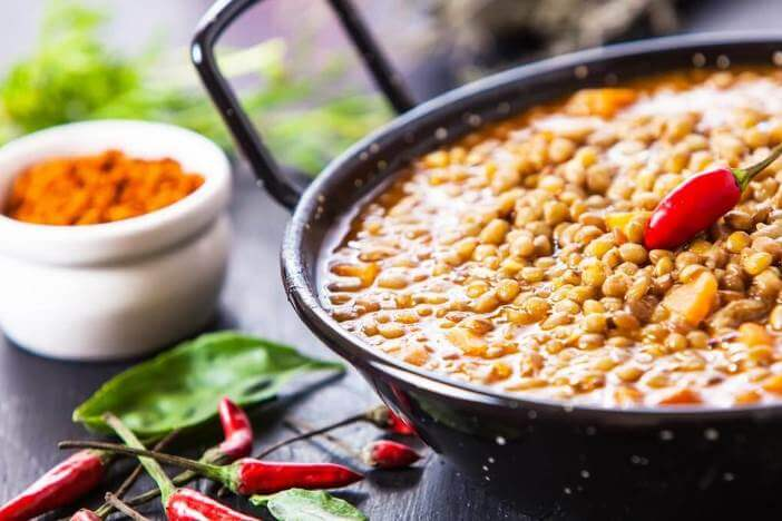 Upfit veganes Linsen-Chili Rezept